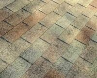 This roof shows shingles with granule loss.
